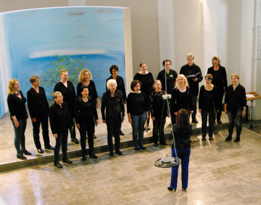 Auftritt im Rahmenprogramm des Deutschen Chorwettbewerbs 2018 in Freiburg