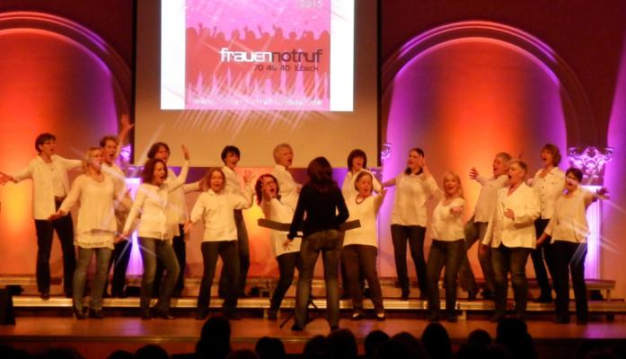 Benefiz-Konzert für den Frauennotruf im Januar 2015