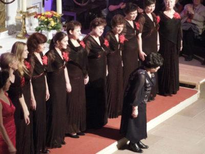 ZWEZDOPAD bei der 1. A cappella Nacht in Ratzeburg am 22.10.2012